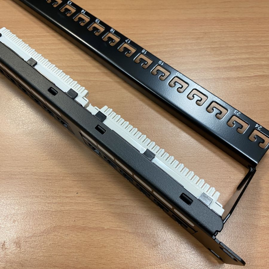 24-Port / 48-Port Patch Panel
