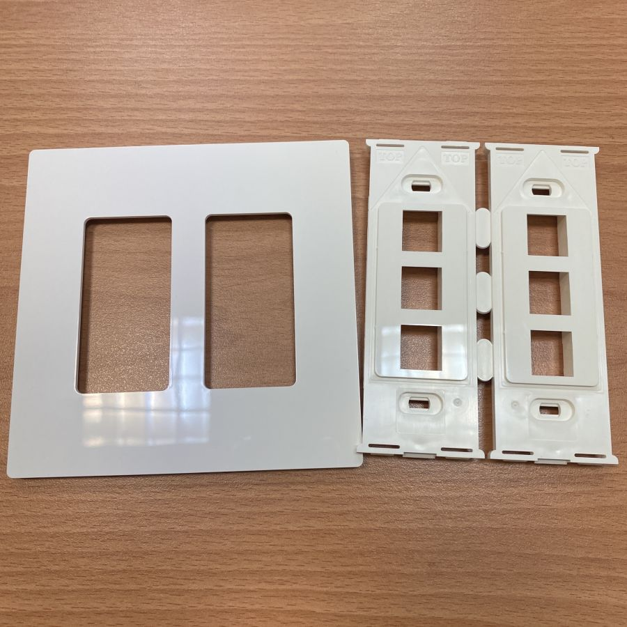 Screwless Decorator Wallplate